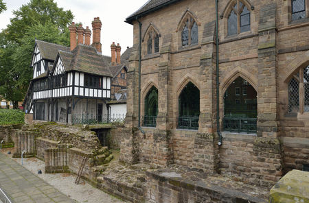 17th century timber framed building, 3-5 Priory Row & 19th Century Blue Coat School building 1856, Coventry, WarwickshireGrade II listed