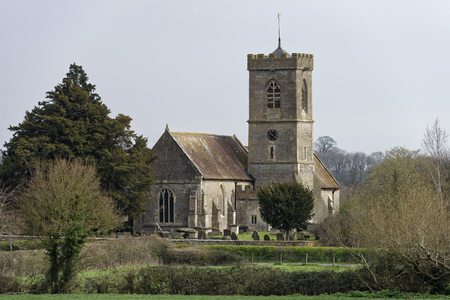 St Laurence Church, Longney, Berkeley Vale, Gloucestershire  Viewed from the banks of the River Severn