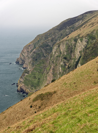 High Cliff, Elwill Bay, Trentishoe, North Devon Coast  South West Coast Path