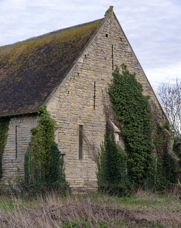 Hartpury Tithe Barn; Gloucestershire, UK  Grade II listed 15th century Abbey Tithe Barn