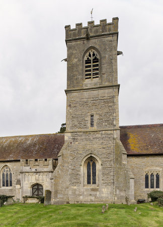 Central Tower of St Laurence Church, Longney, Berkeley Vale, Gloucestershire