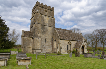 St Mary Magdelene Church, Tormarton, South Gloucestershire, UK  Grade I listed Norman Church Reklamní fotografie
