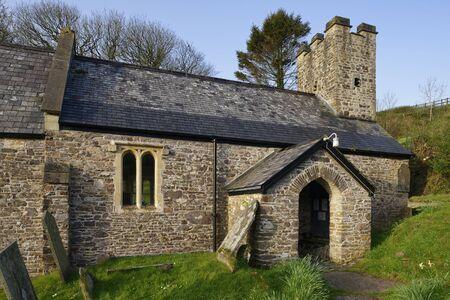 St Peter's, Trentishoe, Exmoor, Devon, UK Grade II listed 15th century Church Reklamní fotografie