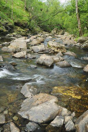 River Falloch, Glen Falloch, Loch Lomond; Argyll, Scotland