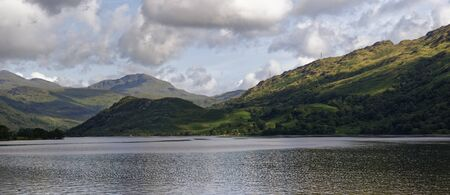 Loch Lomond and Glen Falloch, Argyll, Scotland, UK Stock Photo
