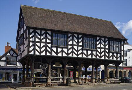 17th century grade I listed Market House, Ledbury, Herefordshire Reklamní fotografie