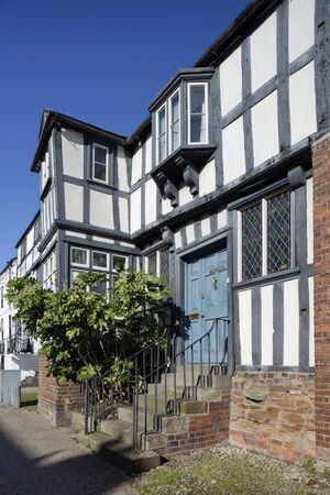 Abbey House, Ledbury Grade II listed late 16th century timber framed house Reklamní fotografie