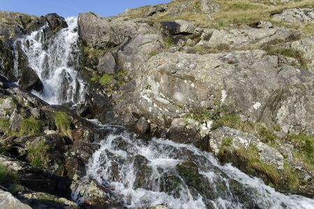 Small Water Beck Waterfall, Mardale Head Haweswater, Cumbria