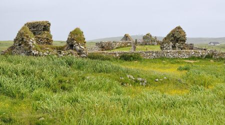 Tobha Mor Ancient Chapels Remains of four Chapels from 12th & 13th centurySouth Uist, Outer Hebrides