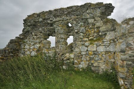 Remains of St Mary's Church, 13th Century, Tobha Mor Ancient Chapels