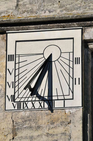 The Nutgrove House Sundial, Painswick Reklamní fotografie