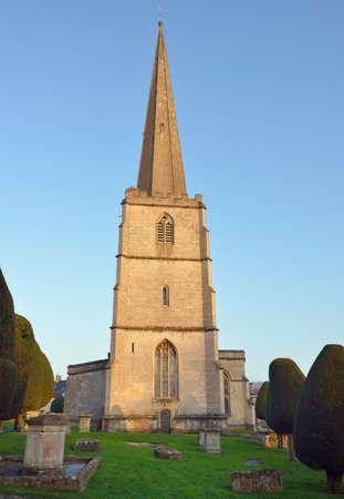 St. Mary's Church, Painswick, Gloucestershire Reklamní fotografie