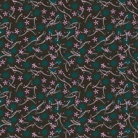 unendlich: unendlich Blumen auf einem grauen Hintergrund Illustration