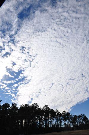 emphasized: Emphasized beautiful sky Stock Photo