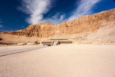 The exter of Queen Hatshepsut Stock Photo - 17249820