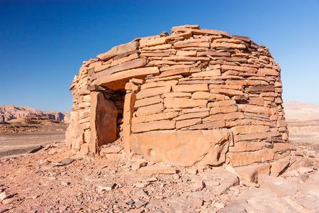 nabatean: Ancient Nabatean tomb in the Sinai desert