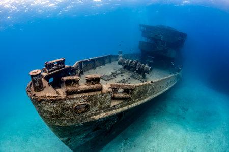 Unterwasser Wrack der USS Kittiwake Editorial