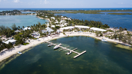 The Kaibo Cai area of Grand Cayman