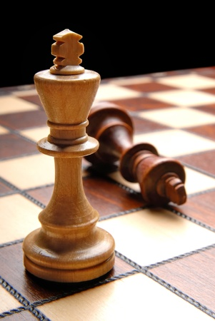 chess board with chess figures Stock Photo - 13223528