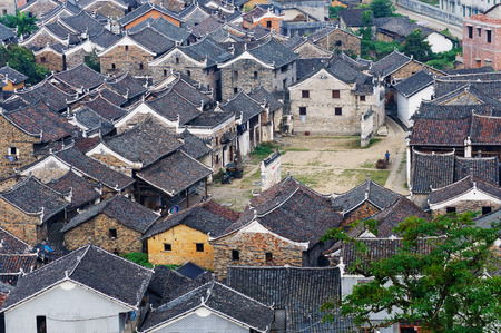 roofed house: Xiushui champion Village