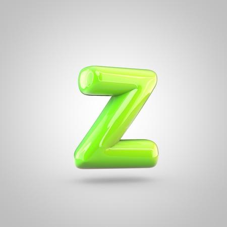 Glossy Kalk Malen Alphabet Buchstaben R Großbuchstaben. 3D ...