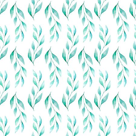 Watercolor Tenderness Seamless Pattern Stock Photo