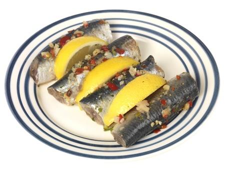 sardinas: Sardinas frescas Foto de archivo