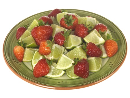 Strawberries with Limes photo