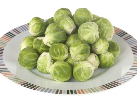 brussel: Brussel Sprouts Stock Photo