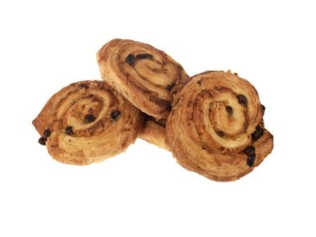aux: Danish Pastries Stock Photo