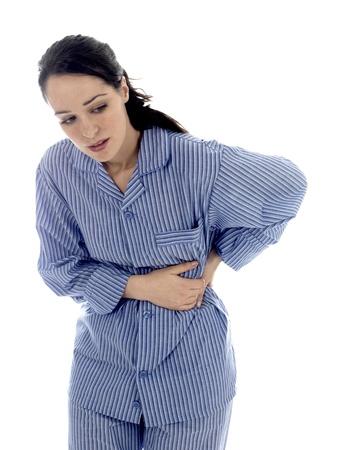 Giovane donna con il mal di schiena