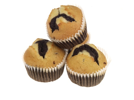 Chococcino Muffins Stock Photo