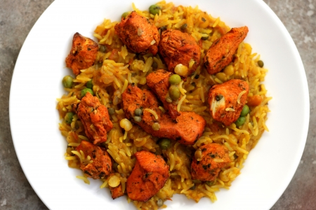Chicken Tikka Biryani