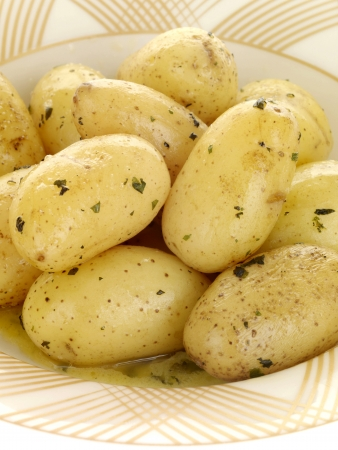 boiled: Bowl of New Potatoes