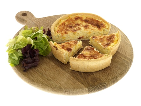 Cheddar Cheese and Onion Quiche photo
