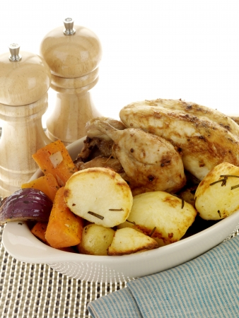 Roast Chicken with Vegetables photo