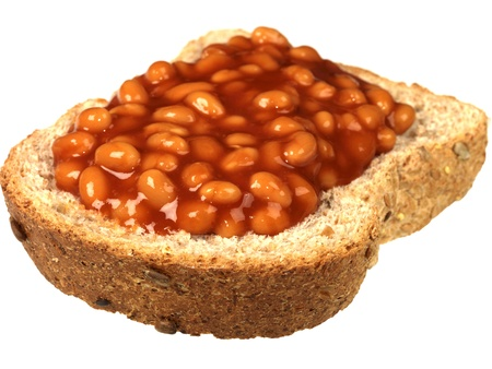 Baked Beans on Brown Bread