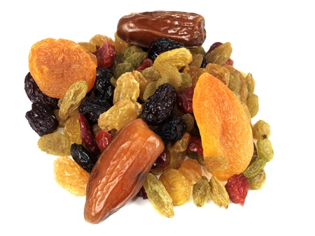 Dried Mixed Fruit Stock Photo