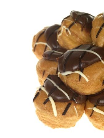 Chocolate Profiteroles Stock Photo - 15615081
