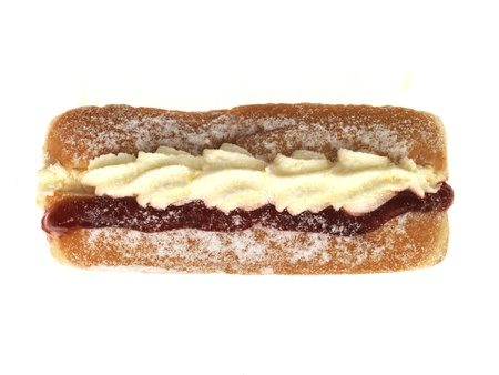 Jam and Cream Donut photo