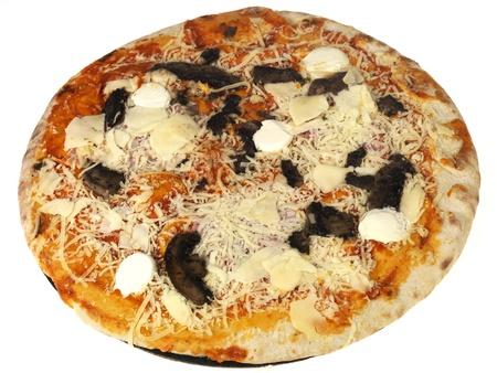 mascarpone: Mushroom and Mascarpone Pizza