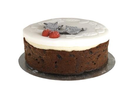 Iced Christmas Cake photo