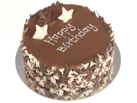 decotated: Chocolate Birthday Cake