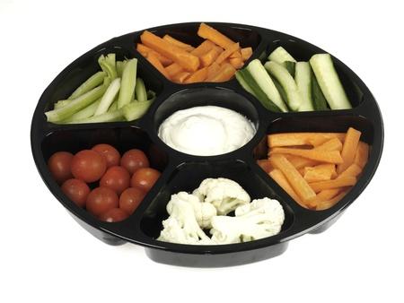 crudite: Mixed Vegetable Dip