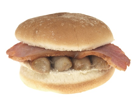 Bacon and Sausage Roll