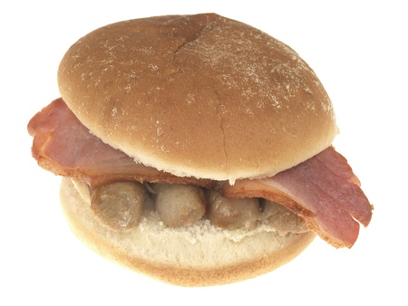 bap: Bacon and Sausage Roll