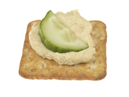 Houmous and Cracker photo