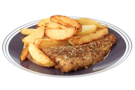 Fish and Chips Stock Photo - 19449408