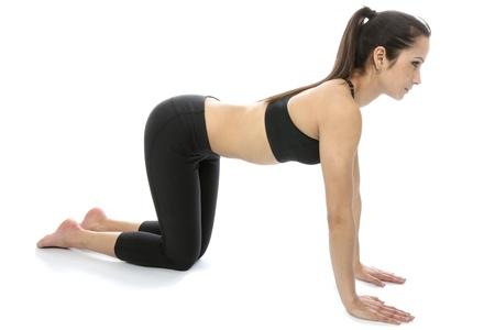 model released: Model Released  Woman Exercising