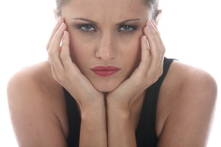 fedup: Model Released. Angry Young Woman